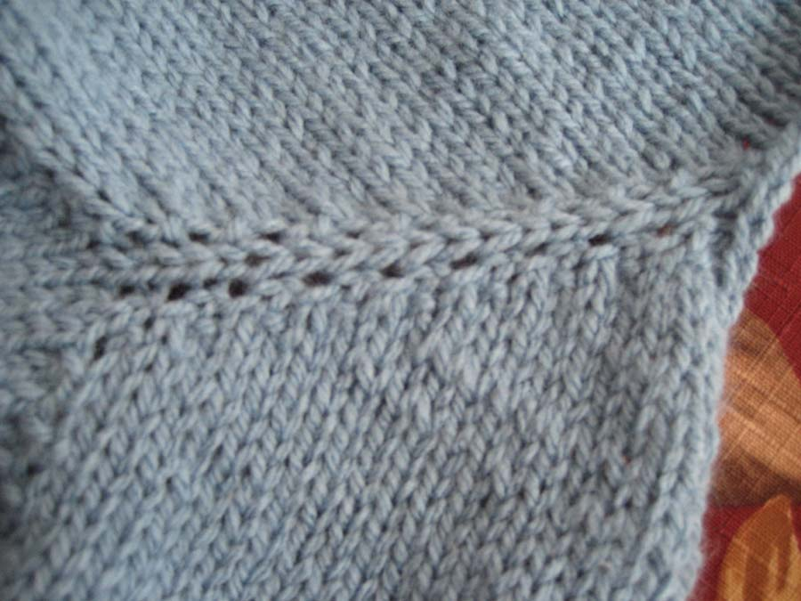 Knitting Increases For Sleeves : A new sleeve technique experiment is success my
